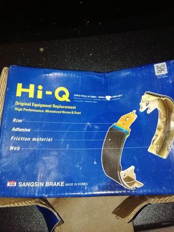Колодка задняя тормозная Ланос, Сенс, Нексия HI-Q комплект