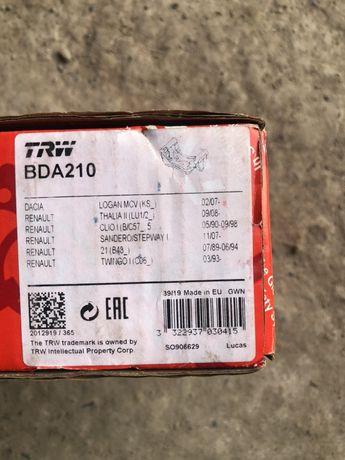 Продам TRW BDA210 скобы для Рено