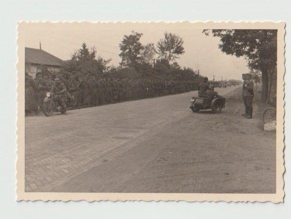 Stare zdjęcia Wehrmacht Łódź Łowicz 1939
