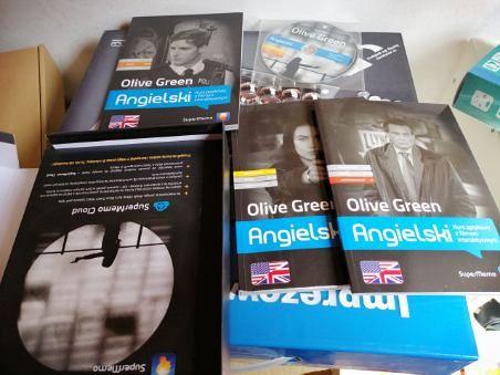 Olive Green -wszystkie poziomy -kurs angielskiego