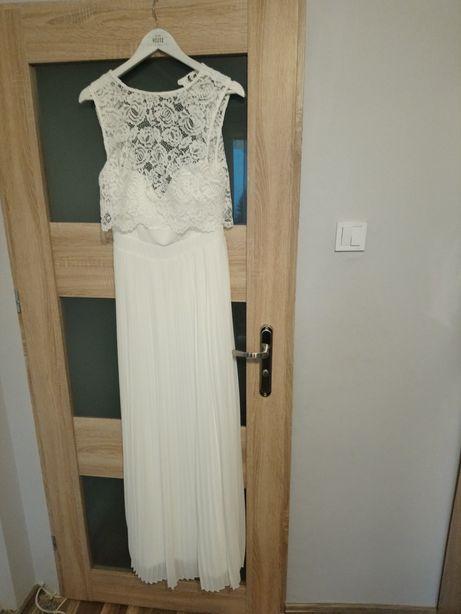 Sukienka ślubna r. 38