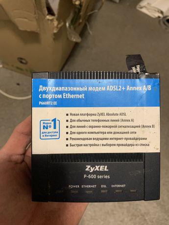 Модем ZyXEL p-600 series