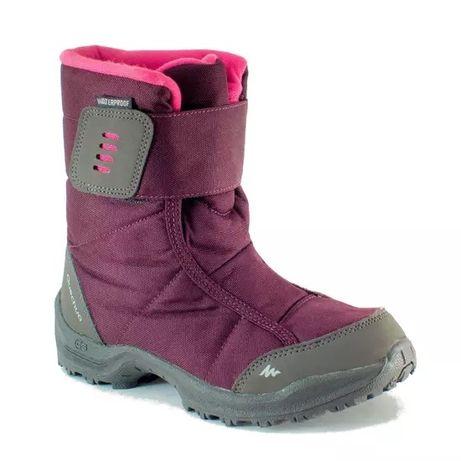 Сапоги QUECHUA Decathlon термо ботинки на девочку 24