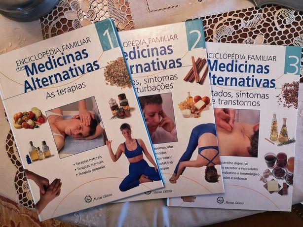 Livros Medicinas alternativas - homeopatia, massagem, entre outros