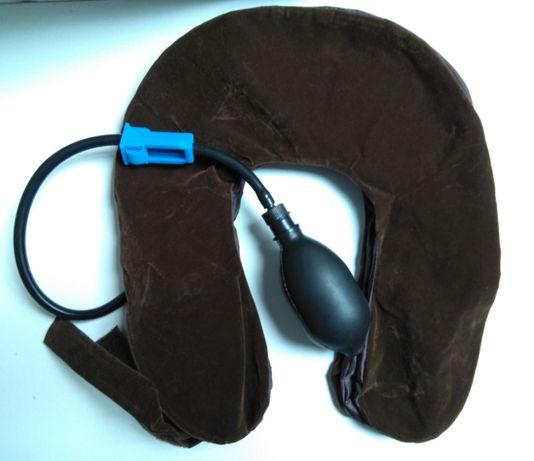 Almofada insuflável para Cervical, pescoço, postura correta