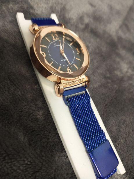 NOWY zegarek damski niebieski