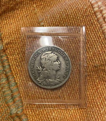 Moeda 50 Centavos Alpaca 1938
