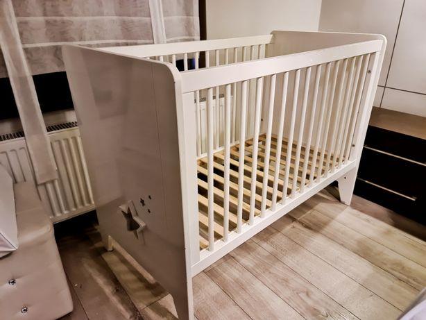 Drewniane łóżeczko dziecięce 120x60 GWIEZDNY PYŁ - Noukies