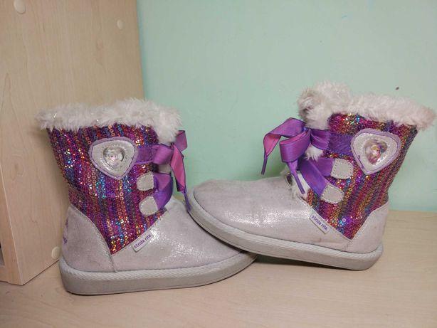 Сапоги ботинки угг зимние Анна Эльза для девочки