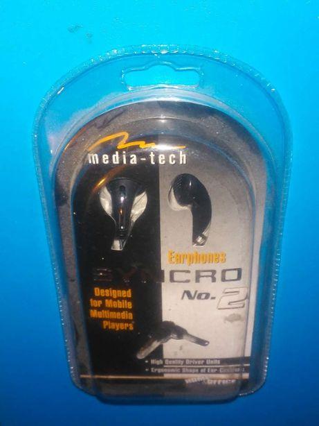 Słuchawki stereofoniczne MT-3511 do ucha, Media - Tech