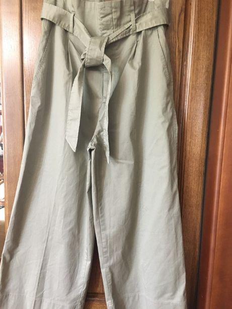 Широкие брюки с завышенной талией от H&M EUR40