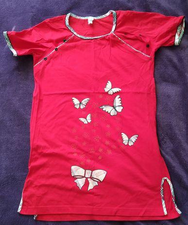 Koszula ciążowa do karmienia do porodu