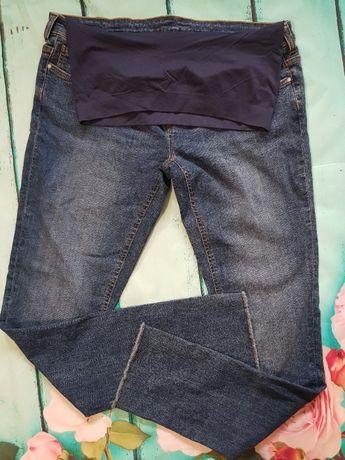 Spodnie jeansy ciążowe r 42 NOWE