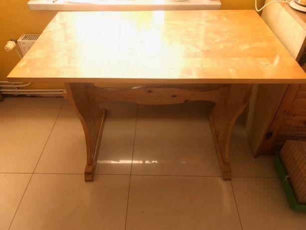 Stół / ława drewniana zrobiona na zamówienie