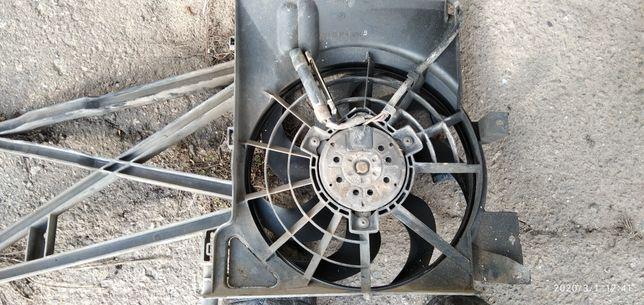 Вентилятор радиатора кондиционера вектра б 1.6