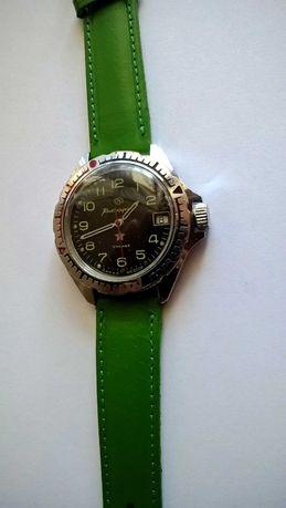 Komandirskij  ZAKAZ MO CCCP z datownikiem mechaniczny zegarek