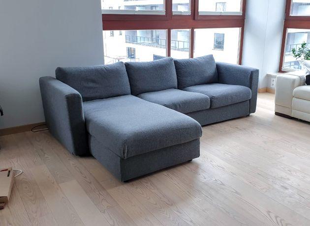 Sofa / Kanapa narożna (szara) IKEA VIMLE