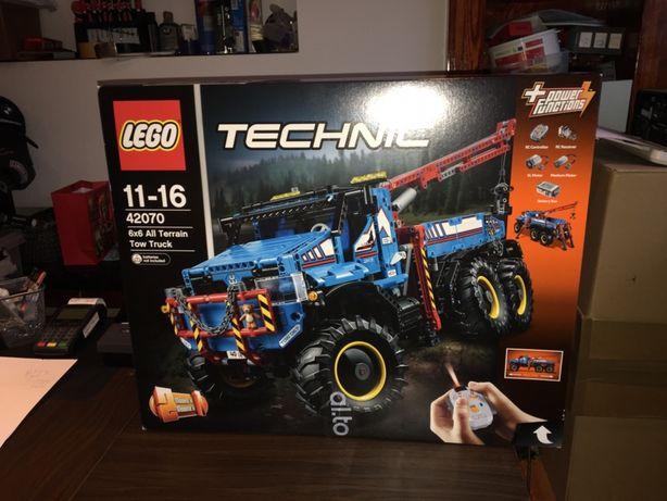 Lego 42070 Technic Holownik 6x6 Lego Nowe Oryginalne Unikat