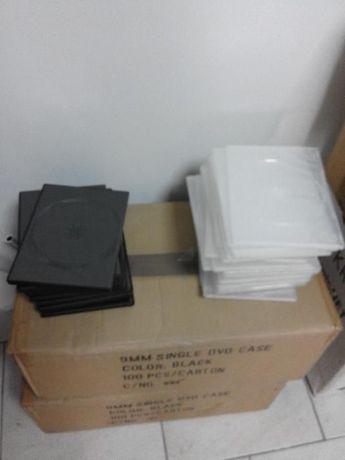 Caixas de DVD Single