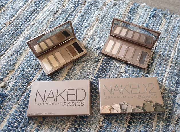 Paletas Urban Decay Naked Basics 1 e 2 ORIGINAIS