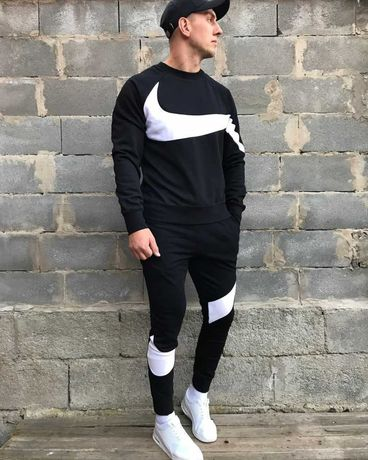 Теплый мужской спортивный костюм Nike Найк на флисе.Зимний костюм