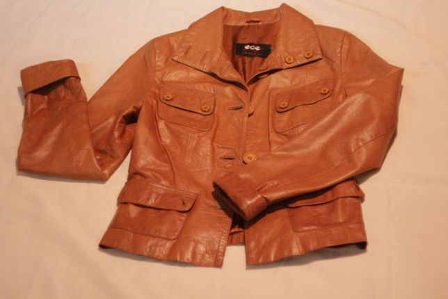 Кожанка кожаная куртка 1600 руб