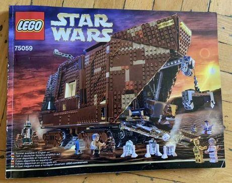Легендарный набор конструктор лего StarWars 75059 Песчаный краулер