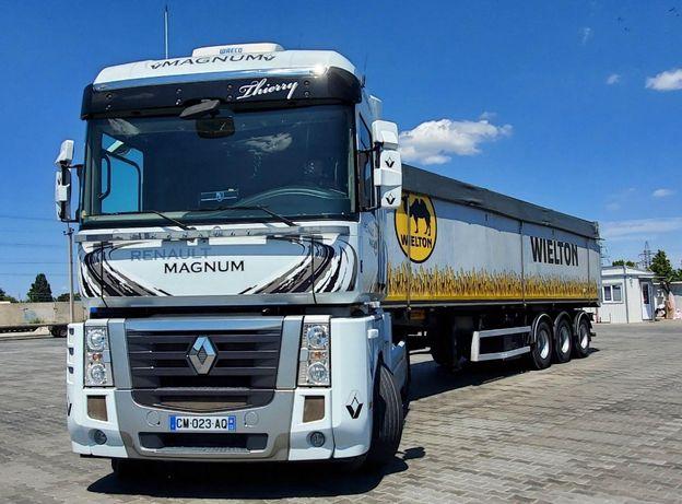 Продам грузовик с полуприцепом Renault Magnum 2012