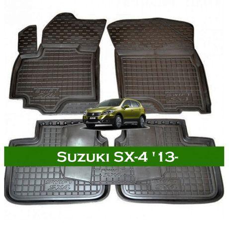 БЕСПЛАТНАЯ ДОСТАВКА Suzuki SX 4 Grand Vitara коврики в салон