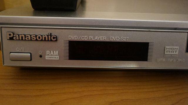 Odtwarzacz CD/DVD Panasonic DVD-S27