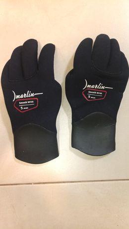 Перчатки для подводной охоты Marlin Smooth Wrist 5мм размер L