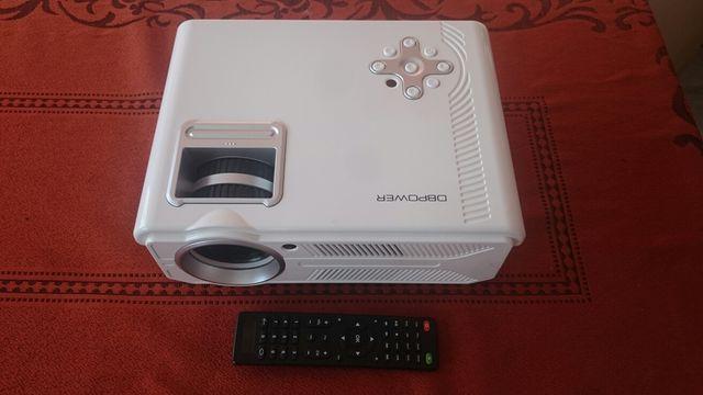 Projektor DBPOWER RD-819 oraz ekran