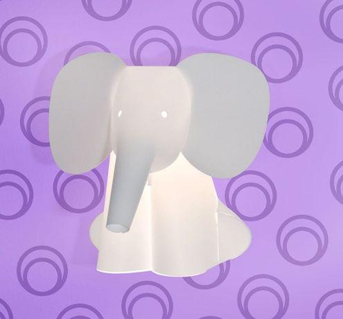 Candeeiro de parede elefante origami (NOVO)