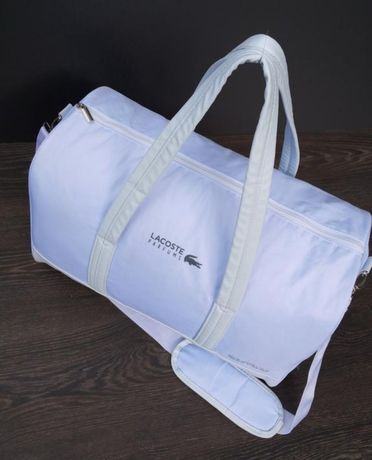 Lacoste стильная сумка оригинал дорожная или для тренировок