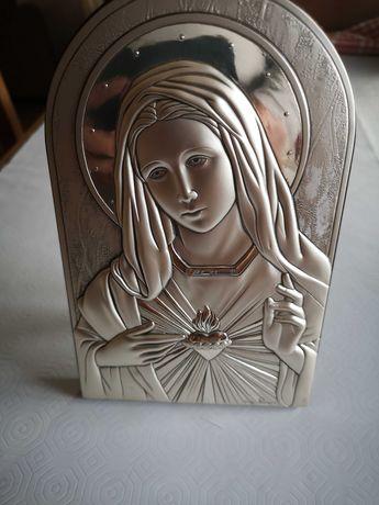 2 imagens  religiosas em prata