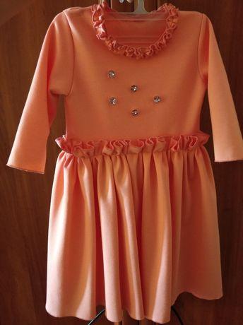 Нарядное платье на годик. Платье для девочки праздничное.