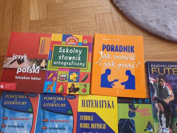Książki do szkoły/encyklopedie/lektury
