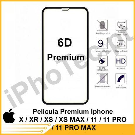 Película Premium Iphone X/ XR / XS / XS MAX / 11 / 11 PRO / 11 PRO MAX