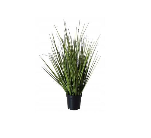 Sztuczna trawa w doniczce duża roślina dekoracyjna Fejka 60cm