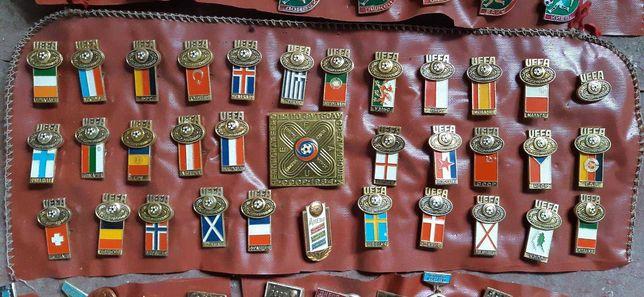 Коллекция значков Чемпионат Европы по футболу 1984год