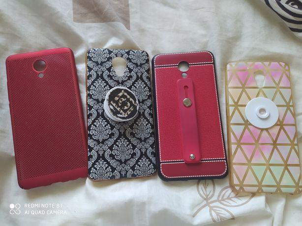 Чехлы на телефон Meizu M5 Note