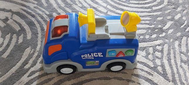 Interaktywna wóz policyjny