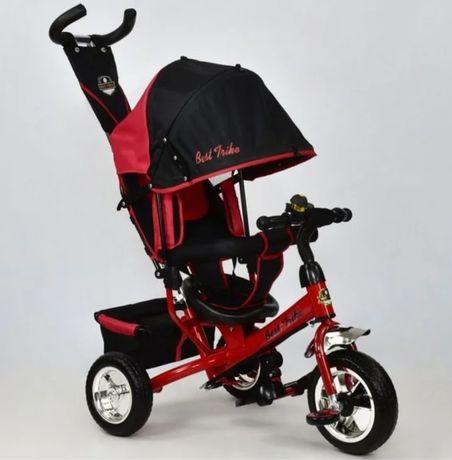 Трёхколёсный велосипед коляска детский Best Trike, ровер