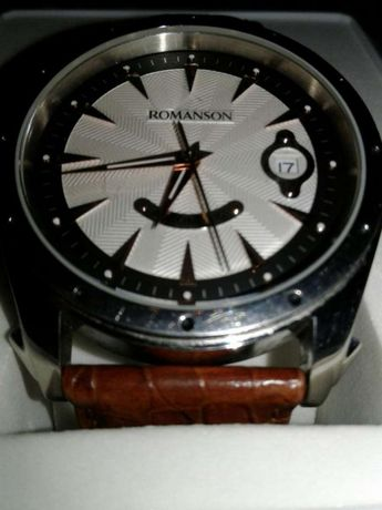 Часы Романсон механика с автоподзаводом