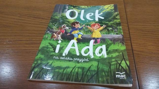Książka Olek i Ada na szlaku przygód nowa