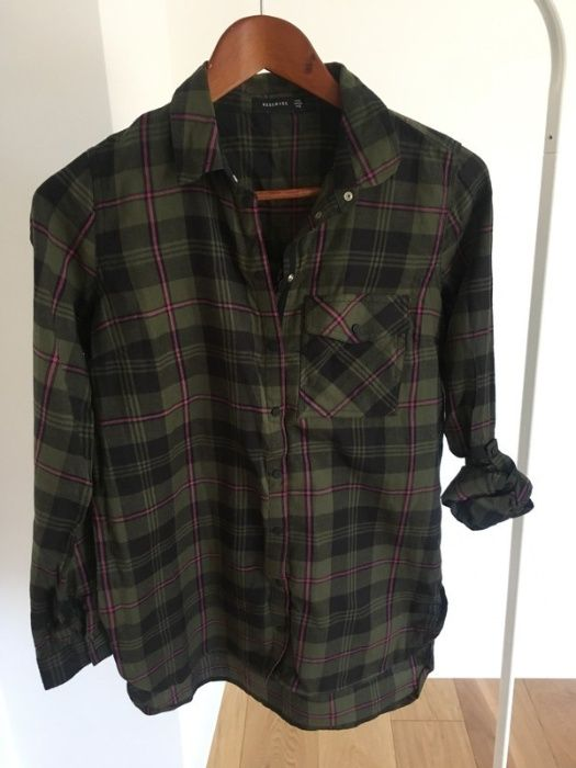 Koszula tunika w kratkę Reserved XS Niepołomice - image 1