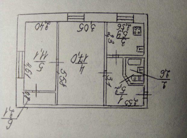 Продам 2 комнатную квартиру по пр.Гагарина (АЛВ)