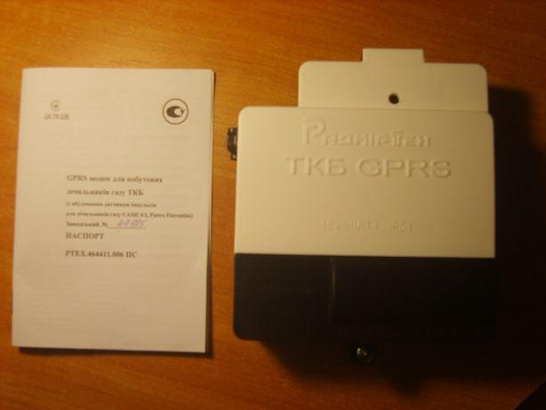 GPRS модем ТКБ для передачи показаний газового счётчика САМГАЗ