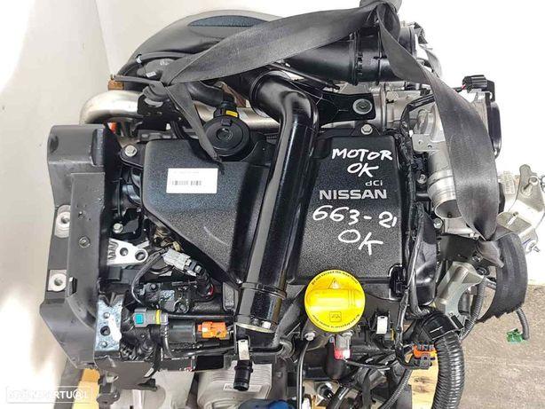 K9KD430 Motor NISSAN QASHQAI / QASHQAI +2 I (J10, NJ10, JJ10E) 1.5 dCi K9K 430