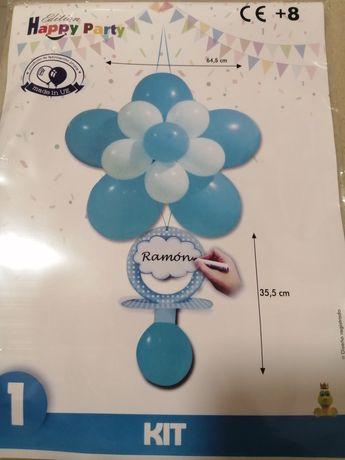 Balões festa de aniversário